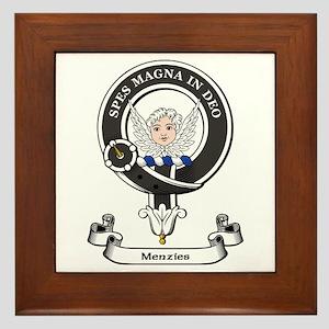 Badge-Menzies [Aberdeen] Framed Tile